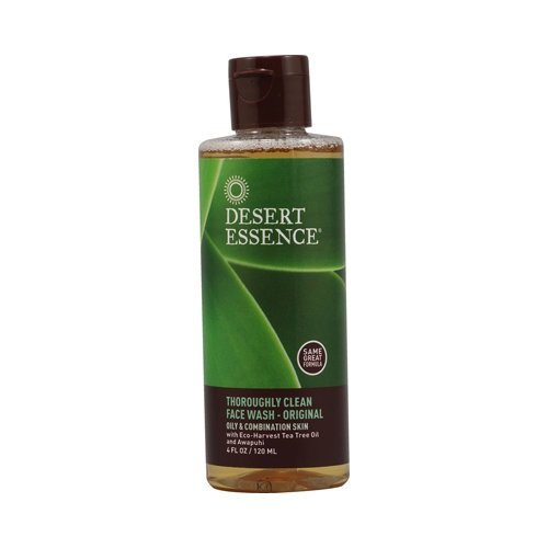 Nature Dessert (Desert Essence Thoroughly Clean Face Wash Original, 4 Fluid Ounce (Pack of 3))