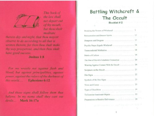 Battling Witchcraft & The Occult by Win Worley