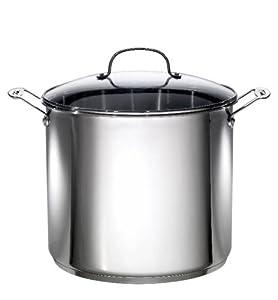 Amazon Com Oneida 16 Quart Stock Pot Stockpots Kitchen
