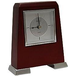Devon Mahogany Rectangle Table Clock