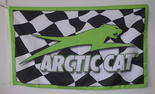 Annfly Arctic Cat Racing 3x5ft Flag Banner