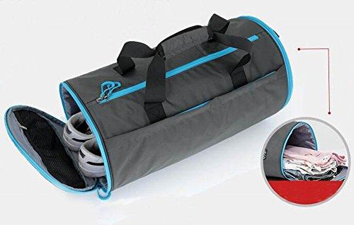 Stilvolle Sport-Duffel-Tasche Sporttasche Sporttasche Reisetasche Navy