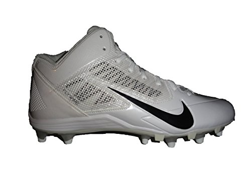 Nike Alpha Pro 3/4 TD White Men's Football Cleats 11.5 US