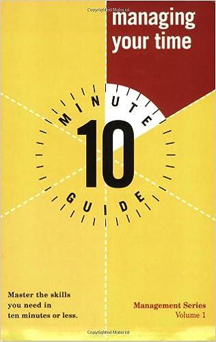 E-Buch kostenlos herunterladen italiano Ten Minute Guide to Managing Your Time (10 Minute Guides) in German PDF ePub iBook 0028638867