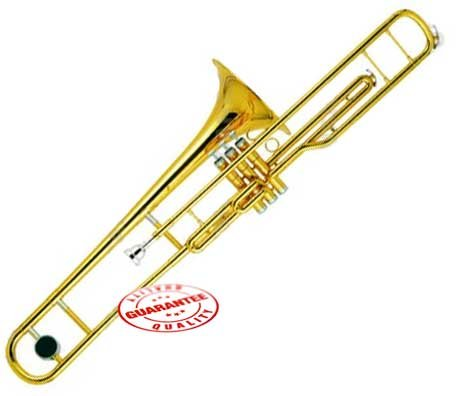 Rossetti C Key Valve Trombone Lacquer Gold, ROS1168