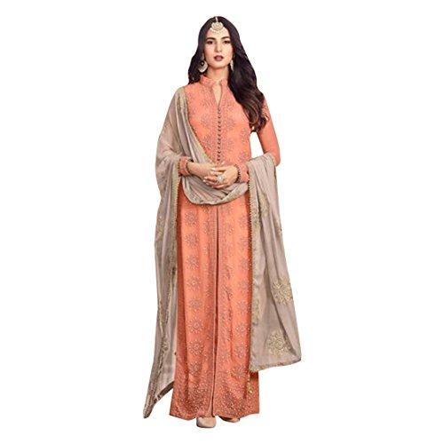 Kaftan Hijab musulmane Sharara Gonna Collezione Suit Party Nikah Abitudine Eid Wear 2512 misurare Salwar Donne per Nozze 8zWWqBFA7
