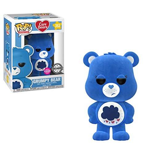 Funko Pop! Animation #353 Care Bears Flocked Grumpy Bear (Box Lunch Exclusive)]()