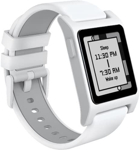 Pebble 2 Heart Rate Smart Watch- White White
