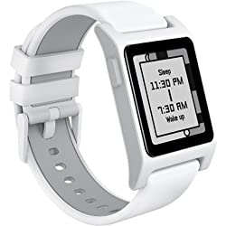 Pebble 2 + Heart Rate Smart Watch- Whitewhite