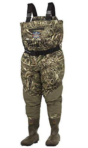 Frogg Toggs 2711856-7 Grand Refuge 2.0 Breathable & Insulated Chest Wader, Realtree Max, 7