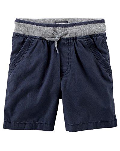 Osh Kosh Boys' Kids Pull On Short, Indepence Navy 4-5 - Oshkosh Boys Shorts