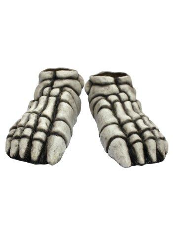 Ghoulish Productions White Skeleton Feet Shoe ()
