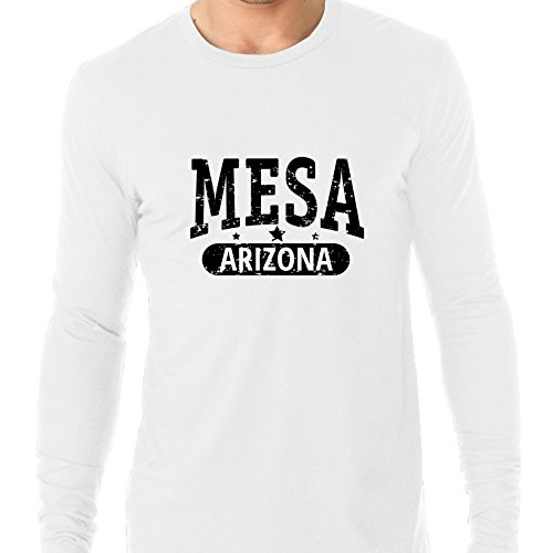 Trendy Mesa, Arizona With Stars Men's Long Sleeve -