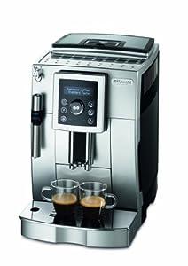 DeLonghi ECAM 23.420.SB Kaffee-Vollautomat (1,8 Liter, Cappuccino, Dampfdüse)...