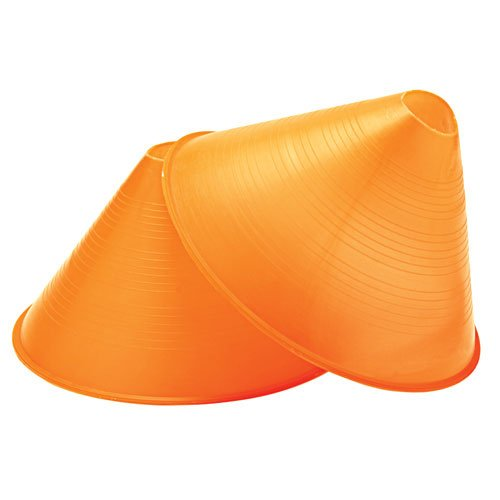 GameCraft Large Profile Cones, Orange (Pack of 12)