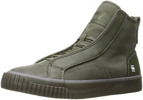 G-Star Raw Men's Scuba Mix Hi Top Fashion Sneaker