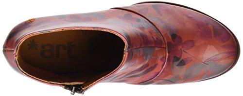 Art 1075, Botas Cortas con Tacón Mujer Multicolor (Fantasy Petalo 1073)