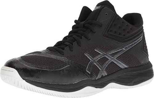 ASICS Men's Netburner Ballistic FF MT Volleyball Shoes, Black/Black, Size 10