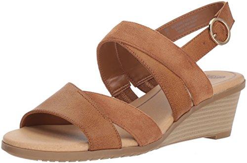 - Dr. Scholl's Shoes Women's Grace Sandal, Saddle Burnished, 7 M US