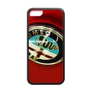 QQQO alfa romeo 4c Hot sale Phone Case for iPhone 5c Black