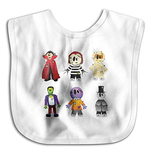 (Halloween Costume New York's Village Halloween Parade Clip Art - Halloween Transparent Creepy Collection Cotton Baby Bibs Infant Toddler Soft Drool Bib for Feeding)
