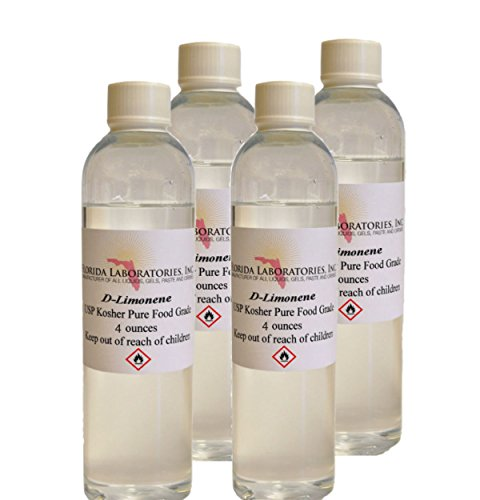 D-Limonene 100% FOOD GRADE HIGH PURITY Orange Oil Citrus Solvent, Cleaner , Degreaser, Medicinal 16oz (dlimonene)