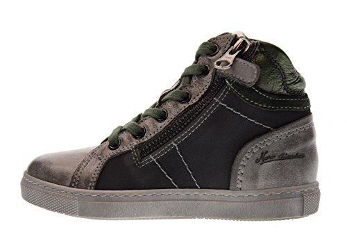 104 27 Gris GRAY 30 espadrilles chaussures NERO GREEN junior GIARDINI Vert A734401M 6XOqO8