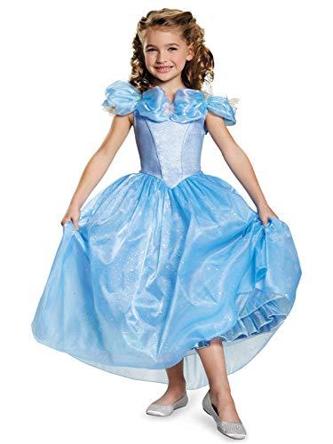 Disguise Cinderella Movie Prestige Costume, X-Small (3T-4T) -