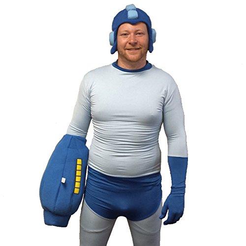 MyPartyShirt Mega Man Adult Costume-Adult