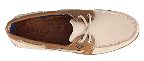 Hombre para 2 0195214 Eye Cuero O Camello Mocasines Sperry Leather A de Blanco wavAOzq1O