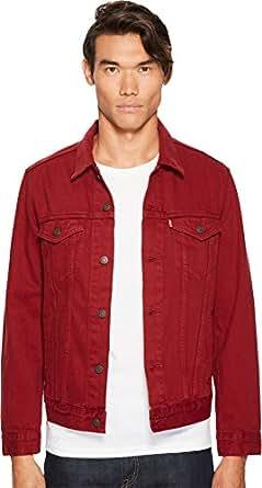 Levi's Men's the Trucker Jacket, Pomegranate, XS