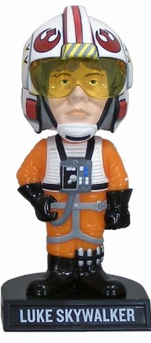 Star Wars Luke Skywalker X-Wing Pilot Bobble Head