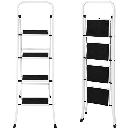 4 Step Ladder Steel Stool 300lb Heavy Duty Lightweight Portable Folding by Unknown (Image #3)