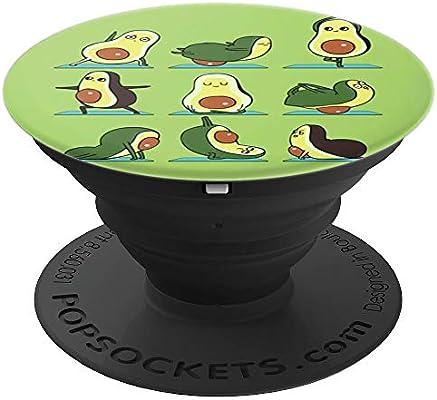 Amazon.com: Avocado Yoga Poses Cute Funny Avocados Doing ...