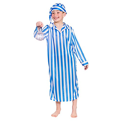 Winkies Costume (Wee Willie Winkie (5-7) - Kids Fancy Dress Costume)