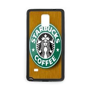 DIY Printed Starbucks hard plastic case skin cover For Samsung Galaxy Note 4 N9100 SNQ272605