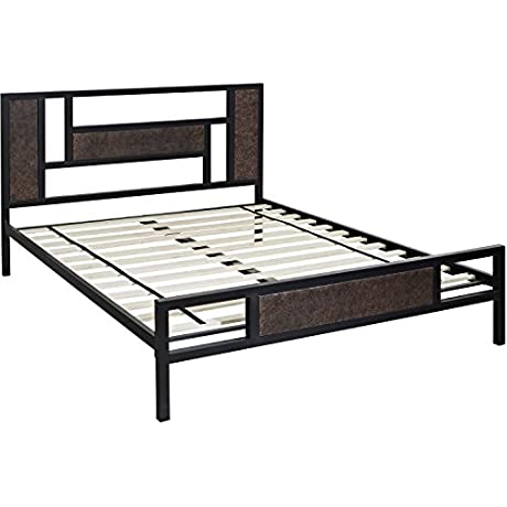 Hanover Mattress Hyde Park Metal Platform Bed Frame Twin