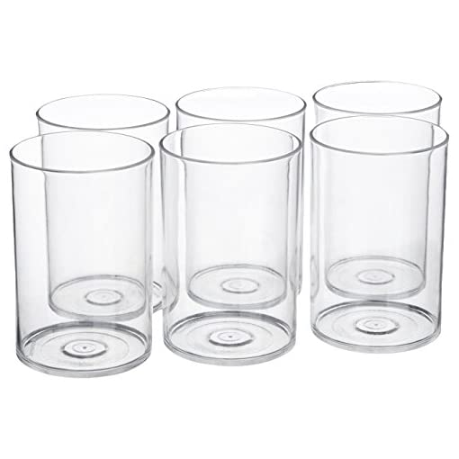 Signoraware Crystal Clear Big Glass Set, Set Of 6, 1.92