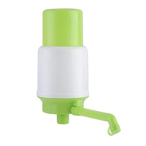 Fasteer Dispensador Manual de Agua, Bomba dispensador de Agua para Botellas y garrafas,Blanco