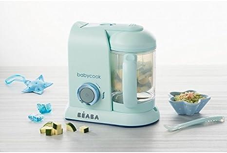 Béaba Babycook Solo MACARONS Edición Limitada - Robot de cocina 4-en-1 (UK IMPORT - Color: Aguamarina): Amazon.es: Bebé