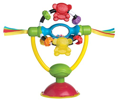 Playgro High Chair Spinning Toy for baby infant toddler children 0182212107, Playgro is Encouraging Imagination with STEM/STEM for a bright future - Great start for a world of learning