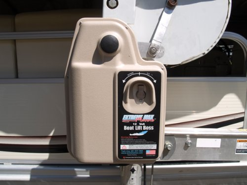 Extreme Max 3001.2105 120 Volt Key Turn & remote Control Boat Lift Boss Direct Drive Boat Lift Motor