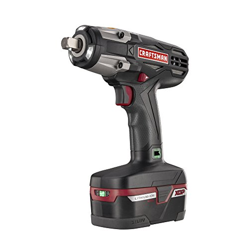 Craftsman C3 Heavy Duty Impact Wrench Kit Powered By 4ah XCP Cordless Tools High Torque