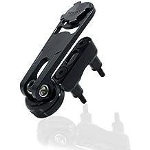 Rokform New Billet Aluminum Motorcycle Perch Mount for iPhone & Galaxy phones - Black