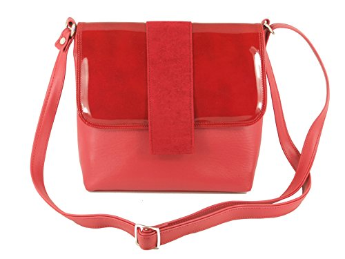 Bag Red Womens Shoulder Handbag Desire Dark Body Cross LONI xP1wqS48
