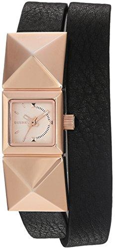 Diesel Women's 'Fleek' Quartz Stainless Steel and Leather Automatic Watch, Color:Black (Model: DZ5519)