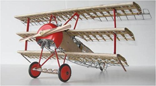Model Airways Dr.1 Fokker Tri-plane wood 1:16 On Sale at 50% off by Model Expo