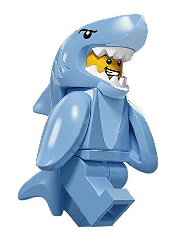 LEGO Series 15 Collectible Minifigure 71011 - Shark Suit Guy -