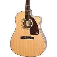 Epiphone AJ-210CE Semi Acoustic Guitar with HARD CASE 6
