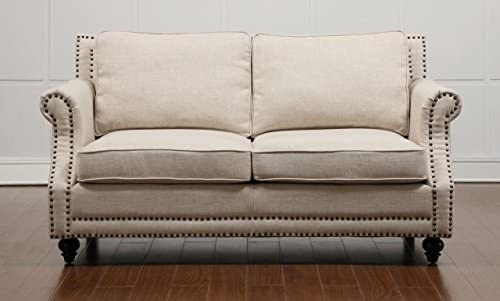 Tov Furniture Camden Linen Loveseat - a good cheap living room sofa